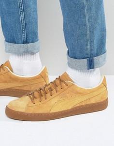 Классические светло-коричневые кроссовки Puma 36132401 - Рыжий
