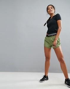 Шорты хаки Nike Running Dry Mod Tempo - Зеленый