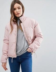 Дутая куртка New Look - Розовый
