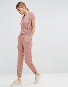 Комбинезон Selected Femme Silla - Розовый