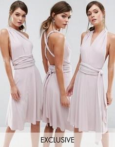 Платье-трансформер мини Coast Corwin - Розовый