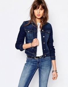Джинсовая зауженная куртка Lee Rider - Синий