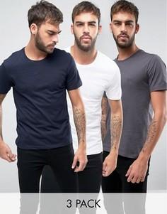 3 футболки BOSS Black By Hugo Boss - Мульти