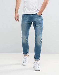 Свободные джинсы слим Esprit - Синий