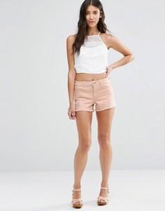 Джинсовые шорты Vila Akemi - Розовый