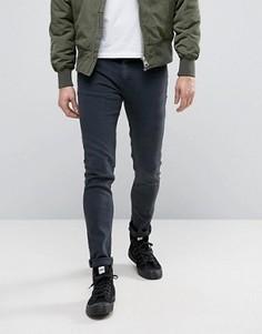 Черные выбеленные джинсы узкого кроя Cheap Monday - Черный