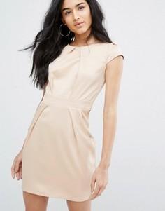 Платье-тюльпан QED London - Золотой