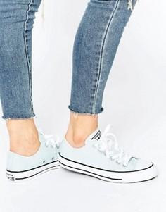Бледно-голубые кроссовки Converse All Star Ox - Синий