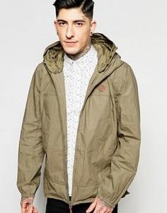 Куртка Харрингтон цвета хаки Pretty Green - Зеленый