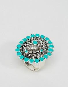 Эффектное кольцо DesignB - Серебряный