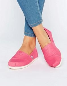 Эспадрильи TOMS Pink Lemonade - Розовый