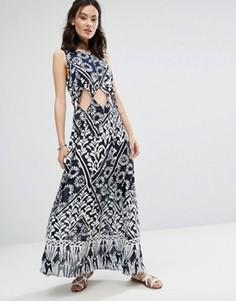Платье с вырезами Raga Tropic Blues - Темно-синий