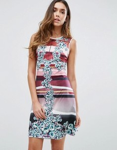 Платье Clover Canyon Seaside Horizon - Мульти