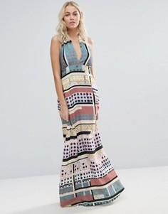 Платье макси Clover Canyon Modern Connection - Мульти