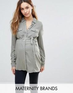 Рубашка Mamalicious Maternity - Зеленый Mama.Licious