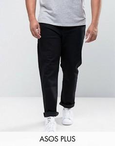 Черные джинсы скинни ASOS PLUS - Черный