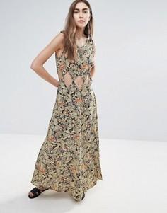 Платье макси с вырезом Raga Nocturnal Affair - Мульти