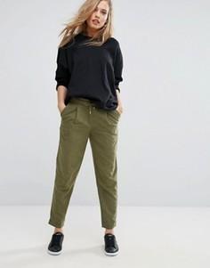 Суженные книзу брюки Vero Moda - Зеленый