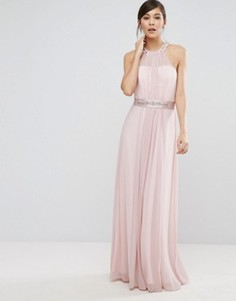 Платье макси Coast Juliette - Розовый
