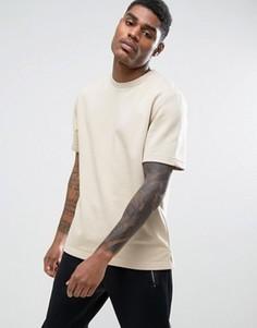 Трикотажная футболка с короткими рукавами Kubban - Кремовый
