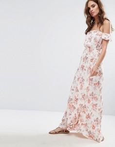 Платье макси с принтом Flynn Skye Bella - Мульти