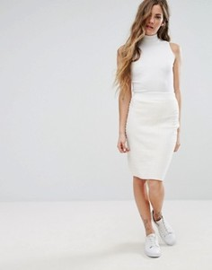 Вязаная юбка Glamorous - Кремовый