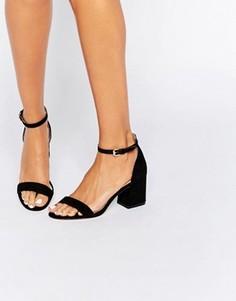 Сандалии на расклешенном каблуке Carvela Loop - Черный