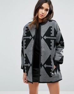 Куртка с графическим принтом Vero Moda - Мульти