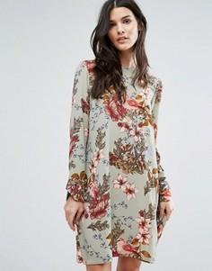 Платье с длинными рукавами Y.A.S Ilvaly - Мульти