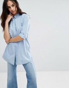 Oversize-рубашка MiH Jeans Minimal - Синий