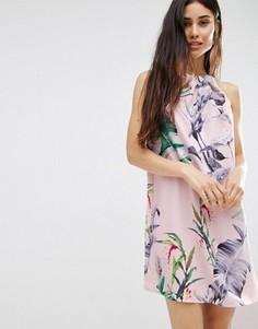 Свободное платье Oh My Love - Мульти