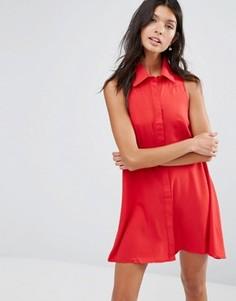 Платье-рубашка Pixie & Diamond - Красный