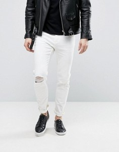 Белые джинсы Cheap Monday Sonic Summer - Белый