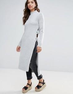 Платье-джемпер Glamorous - Серый