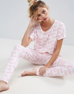 Пижамный комплект с леггинсами ASOS Barbie - Мульти