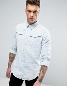Джинсовая рубашка классического кроя G‑Star Arc 3D - Синий