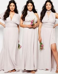 Платье-трансформер Fame And Partners Plus Ainsley - Серый