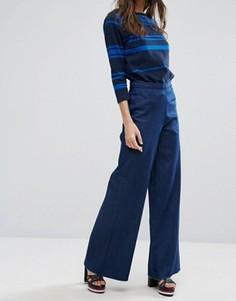 Широкие джинсы Waven Nella - Синий