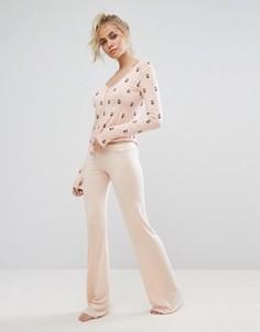 Штаны для дома Wildfox - Розовый