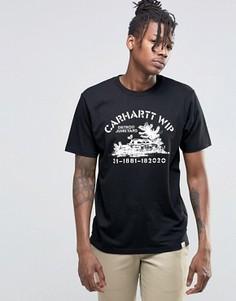 Футболка Carhartt WIP S/S Detroit Junkyard - Черный