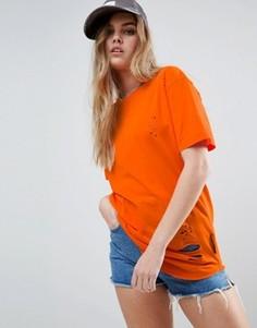 Футболка Criminal Damage Shoreditch - Оранжевый