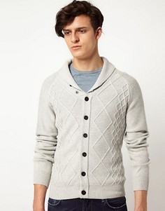 J Lindeberg Fishermans Cardigan - Серый