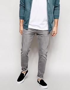 Серые джинсы скинни Weekday Friday - Серый