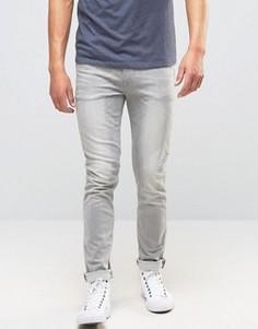 Светло-серые джинсы скинни ASOS - Серый