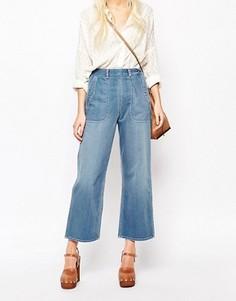 Укороченные джинсы M.i.h Jeans - Синий