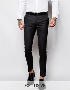 Супероблегающие брюки в мелкую крапинку Heart & Dagger - Серый