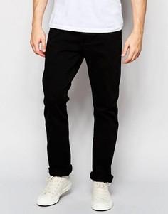 Черные джинсы слим Wrangler Spencer - Черный