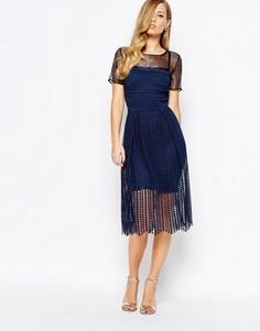 Темно-синее платье Body Frock Milly - Темно-синий
