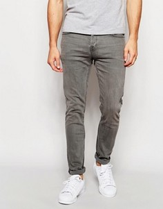 Серые супероблегающие джинсы Only & Sons - Серый