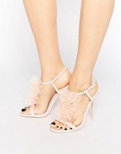 Босоножки на каблуке ASOS HAILSTONE - Розовый